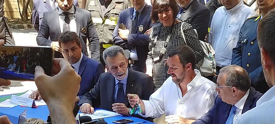 Nuova sede per il commissariato a Palmi, verrà aperto nella ex villa confiscata alla 'ndrangheta