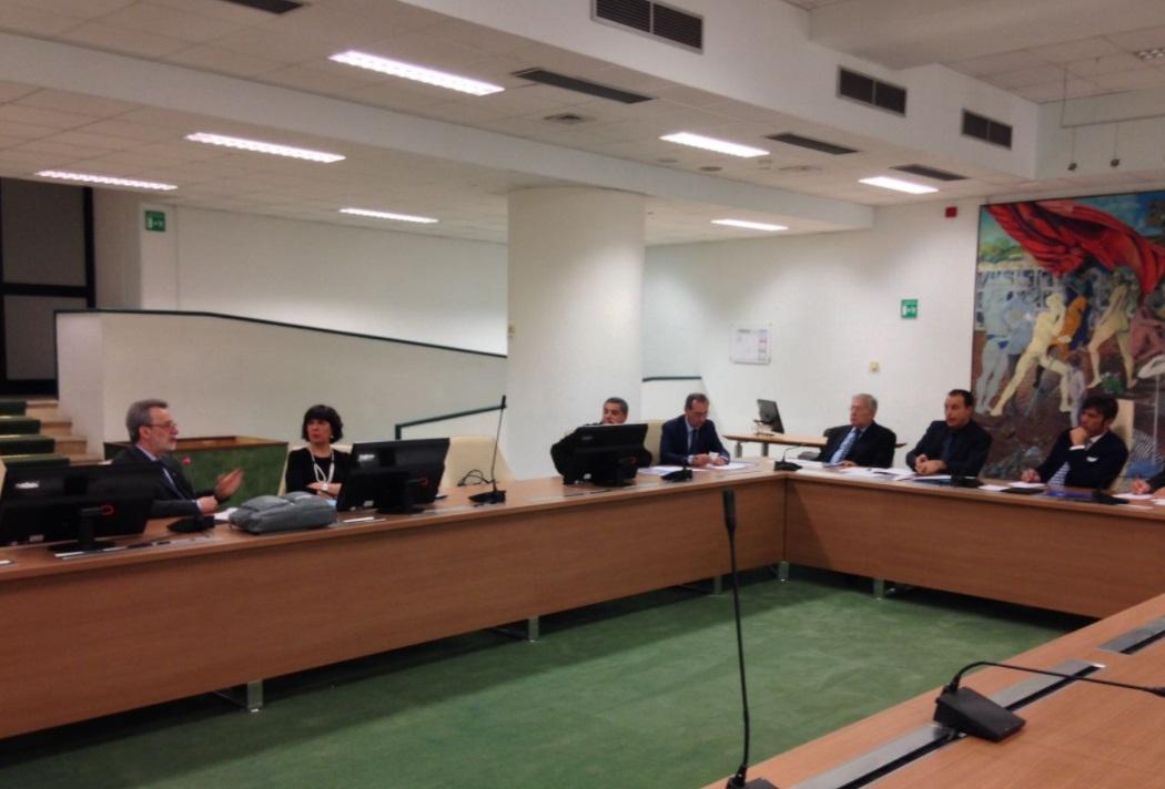 Audizione del Prefetto Sodano Direttore dell'ANBSC da parte della Commissione contro la 'ndrangheta