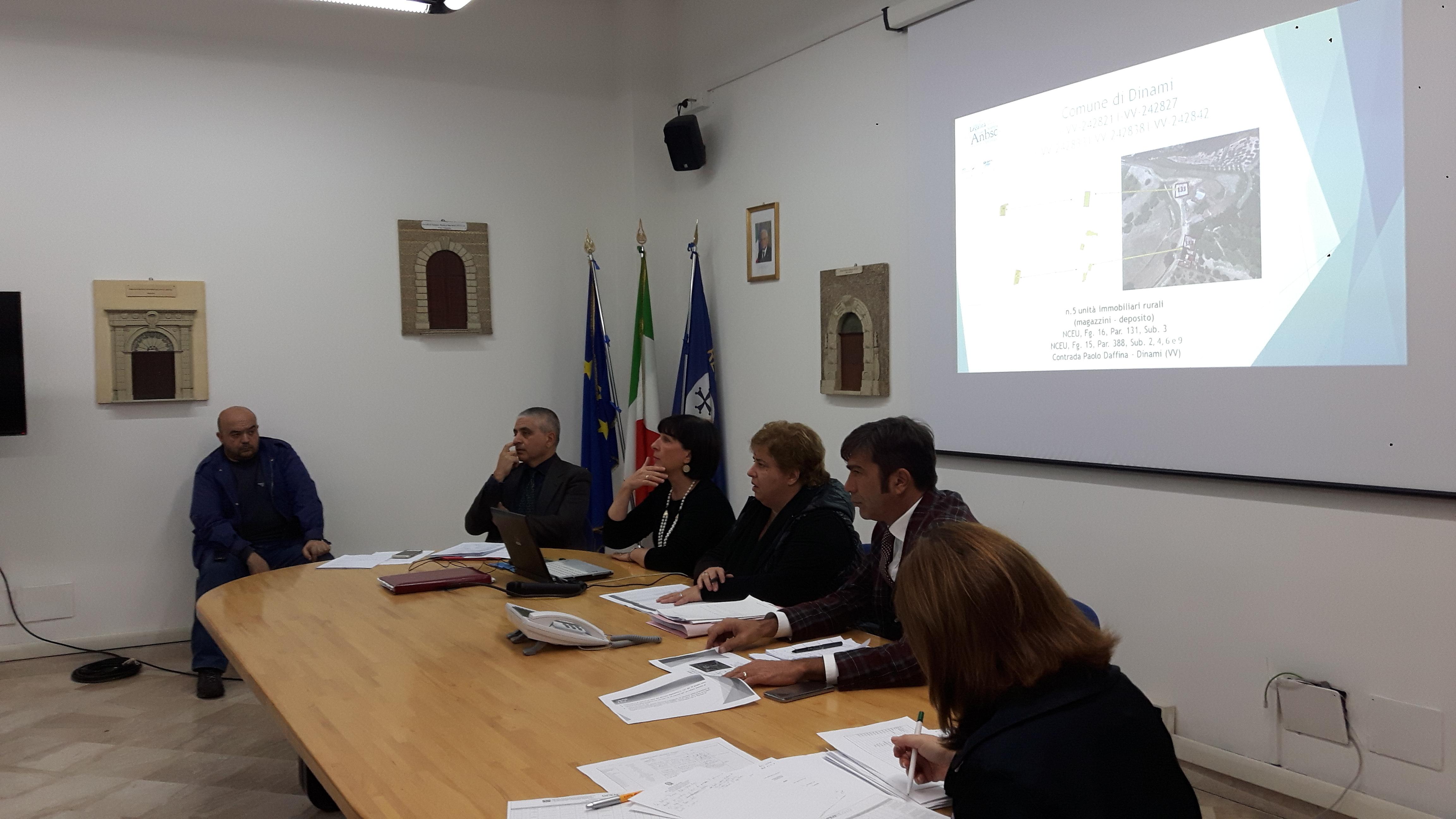 Conferenza di Servizi presso la Prefettura di Vibo Valentia.