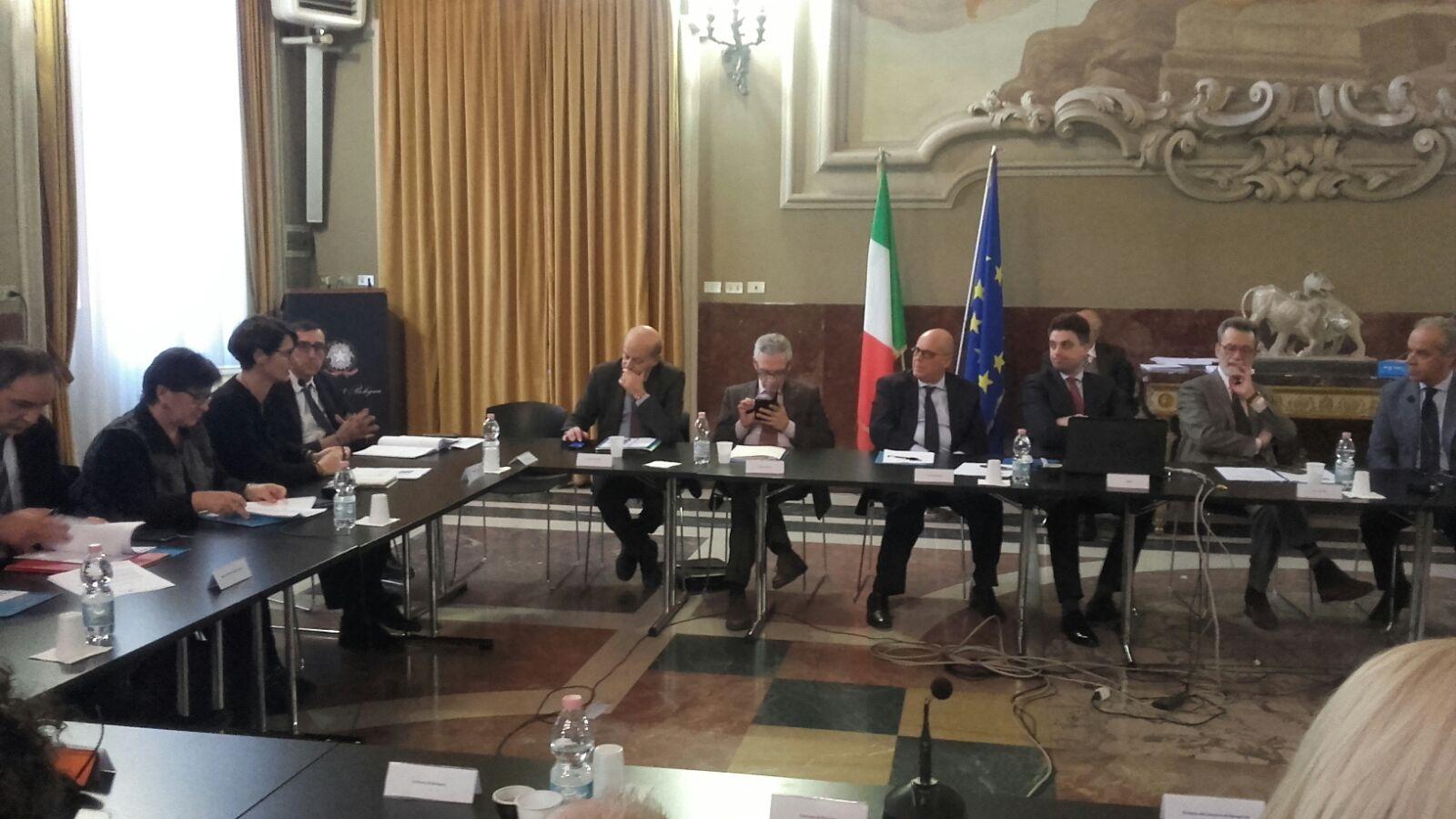 Comunicato stampa: 13/12/2017 Conferenza di servizi presso la Prefettura di Bologna