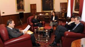 Palazzo d'Orleans. Il Direttore dell'ANBSC incontra il Presidente della Regione Siciliana